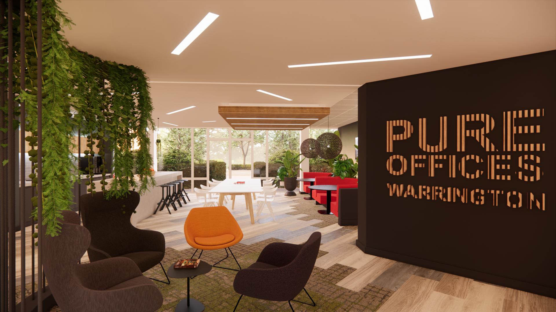 pure offices warrington